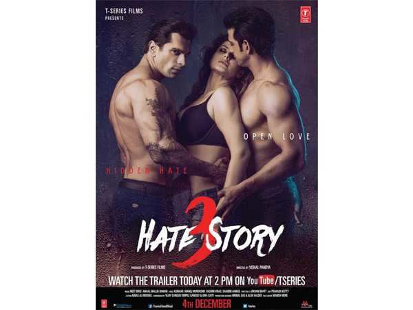 Hate Story 3 (2015) Full Hindi Movie Download Free in