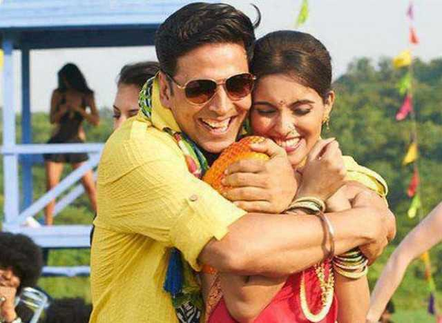 Akshay and Asin