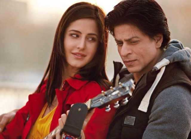 Katrina and Shah Rukh Khan