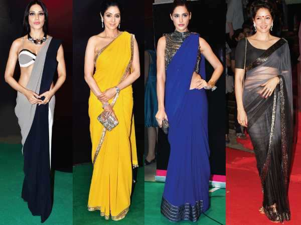 The saree situation