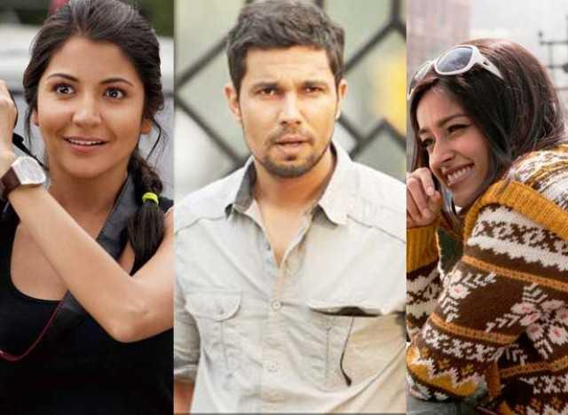 Anushka, Randeep, Illeana