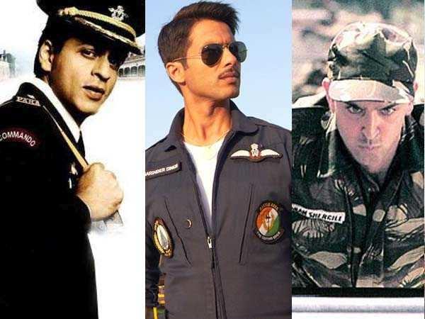 Men at work: SRK, Hrithik and Shahid