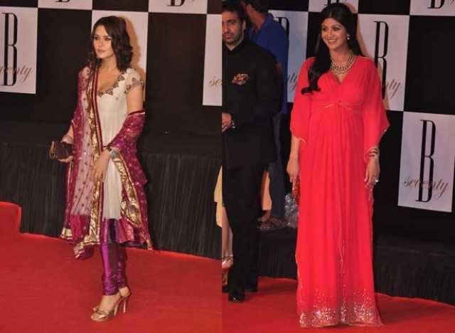 Preity Zinta and Shilpa Shetty
