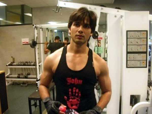 Shahid says no to gyming filmfare