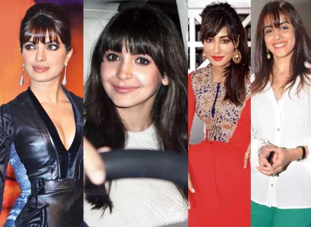 Priyanka, Anushka, Chitrangda and Genelia