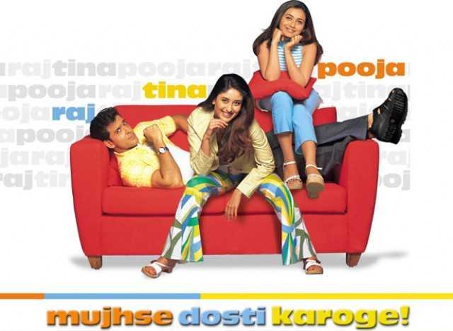 Rani Mukerji, Kareena Kapoor and Hrithik Roshan