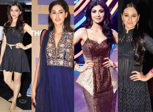 Deepika,Nargis,Shilpa and Sonakshi