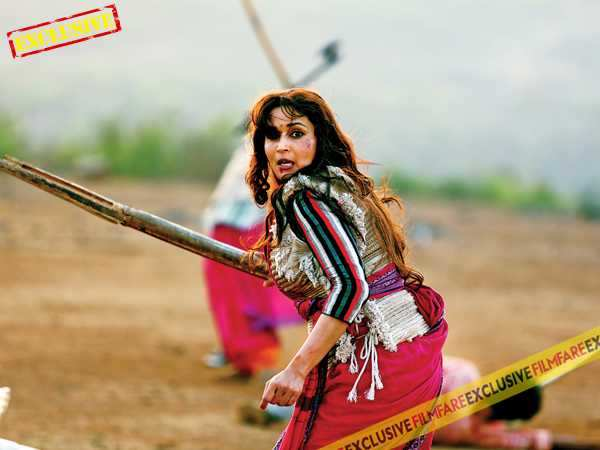 Exclusive: On the sets of Gulaab Gang