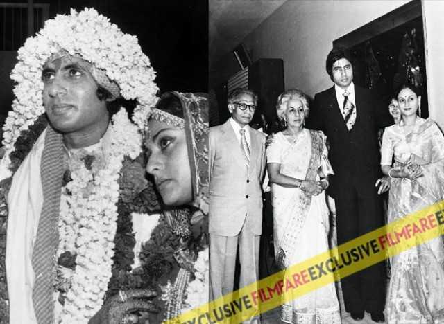 L Bachchan Married Jaya Bhaduri In A Traditional Bengali Wedding 1973