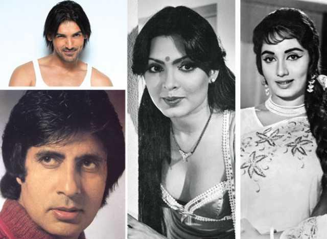 John, Amitabh, Zeenat and Sadhna