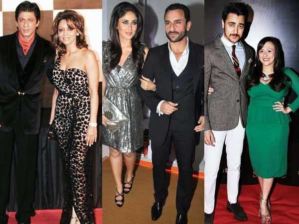 The style couples: SRK-Gauri and Kareena-Saif