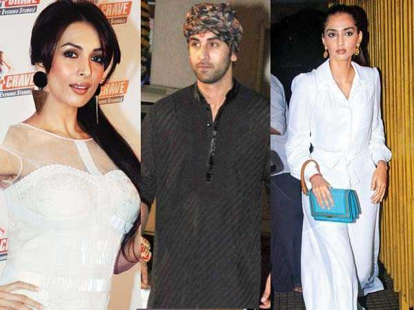 Malaika, Ranbir and Sonam accessorise their style