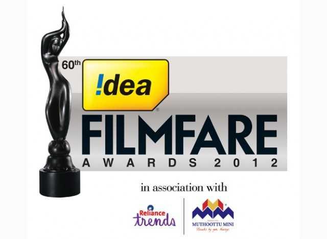 60TH Idea filmfare awards 2013 (south) nominations