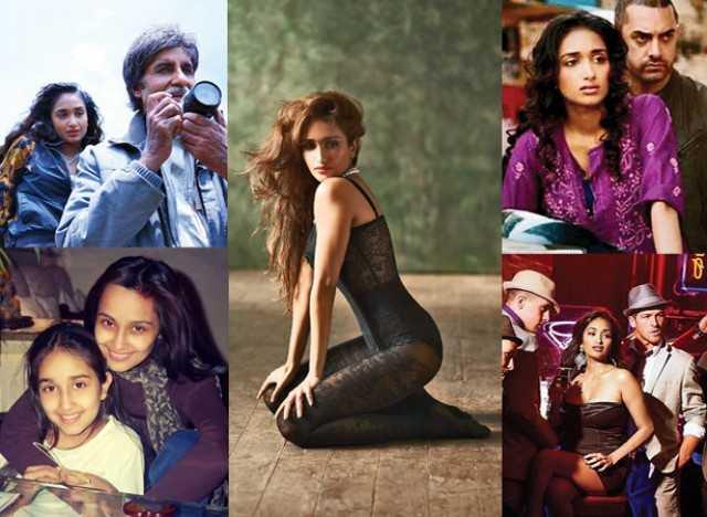 Clockwise: Nishabd, Ghajini, Housefull and Sooraj Pancholi
