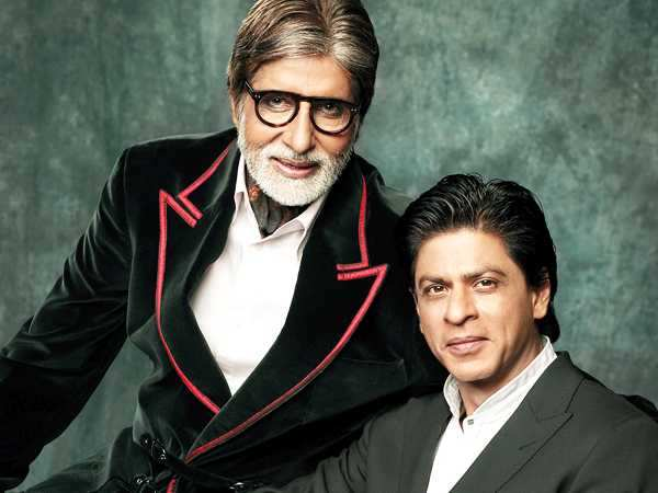Big B and SRK come together