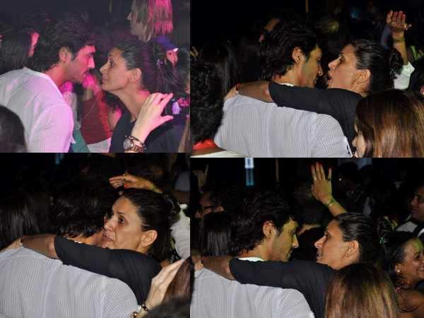 Caught on camera: Arjun and Mehr