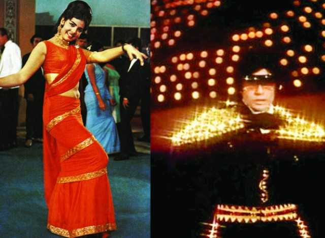 Mumtaz and Amitabh