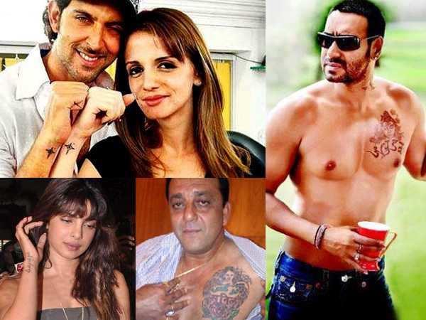Stars and their tattoos | Filmfare com
