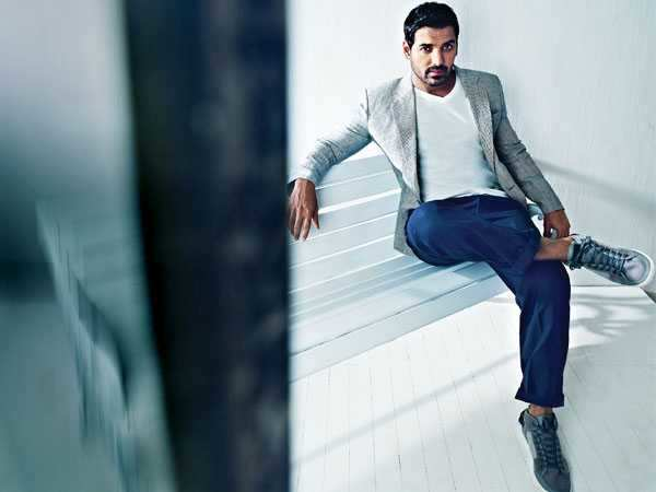 I am here today because of the way I think - John Abraham