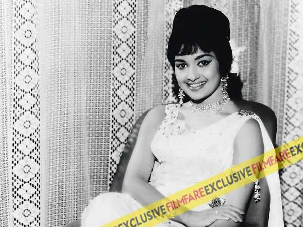 Lucky strike: Asha Parekh