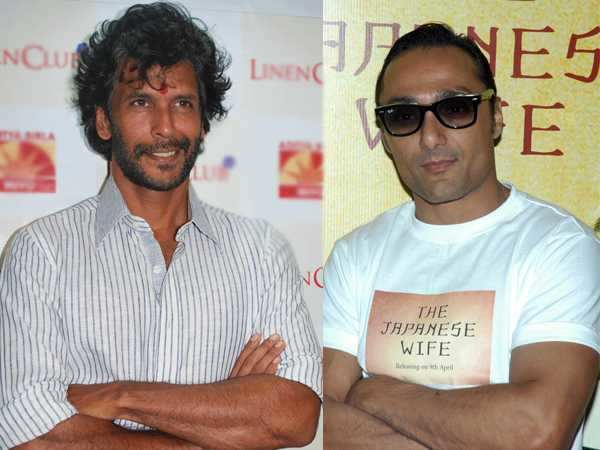 Milind Soman and Rahul Bose run for a cause