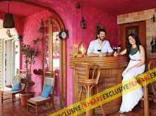 Kabir Khan with wife Mini Mathur at their house