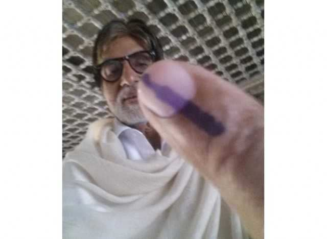 My selfie and my vote