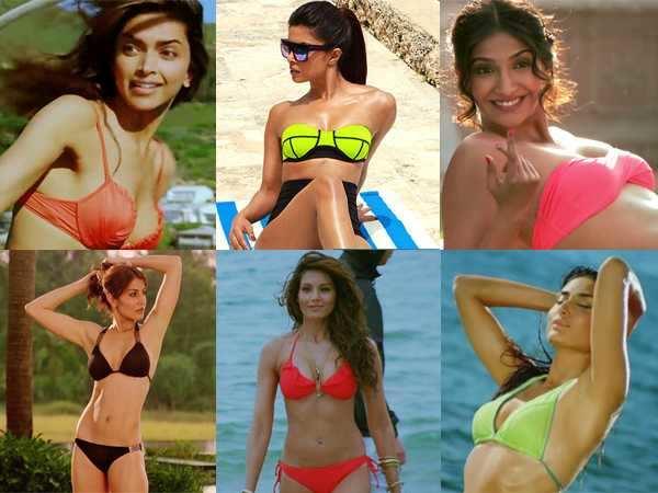 Hottest bikini babes