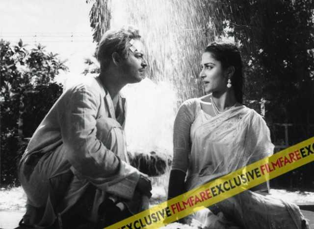 Timeless memories:  Guru Dutt and Waheeda Rehman in Kagaz Ke Phool