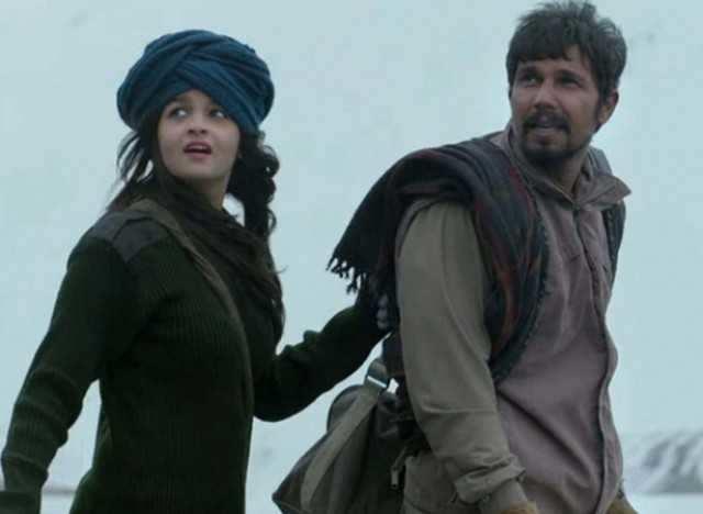 Alia Bhatt and Randeep Hooda