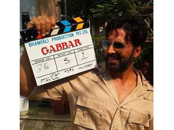 Akshay Kumar's Gabbar starts rolling today!