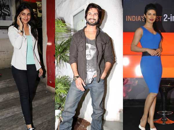 Parineeti, not Priyanka opposite Shahid?