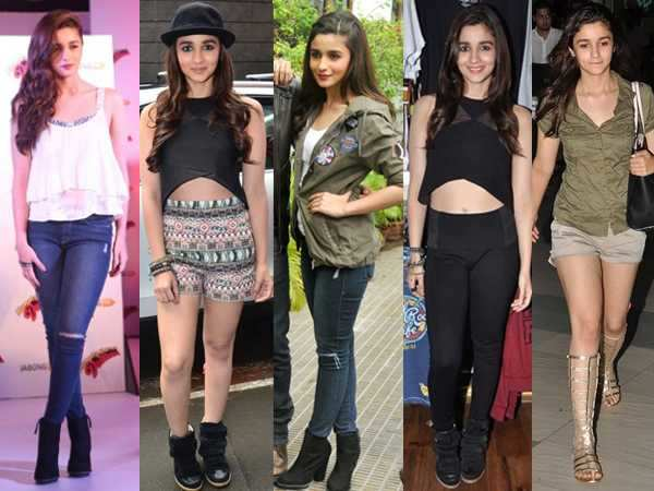 Alia turns style guru