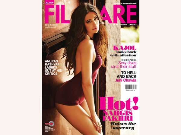 Nargis Fakhri on Filmfare cover