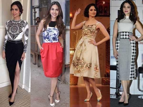 Fashion face-off: Esha v/s Tamannaah