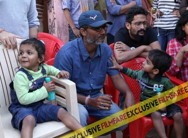 Director, Nitesh Tiwari with family