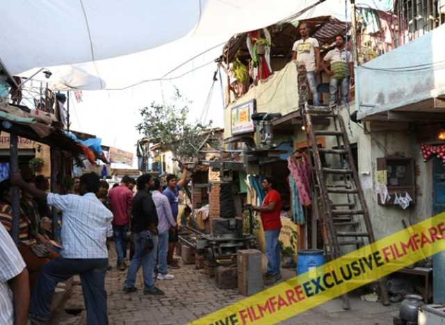 The Dharavi slums set up in Versova