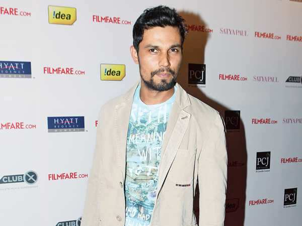 Here is how Randeep celebrated his success