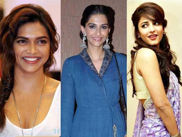 Deepika, Sonam, Shruti turn lucky