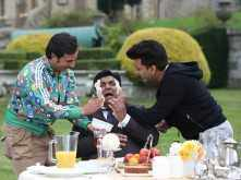 Saif & Riteish give Ram Kapoor a facial!