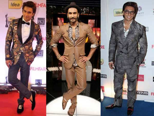 Ranveer Singh's top 5 quirky looks!