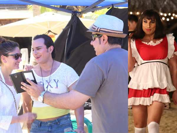 Kareena Kapoor finds Saif Ali Khan in drag funny!
