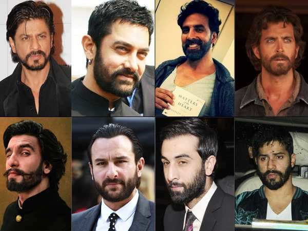 Bollywood's Best-Bearded Men