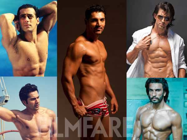 20 sexiest men of Bollywood