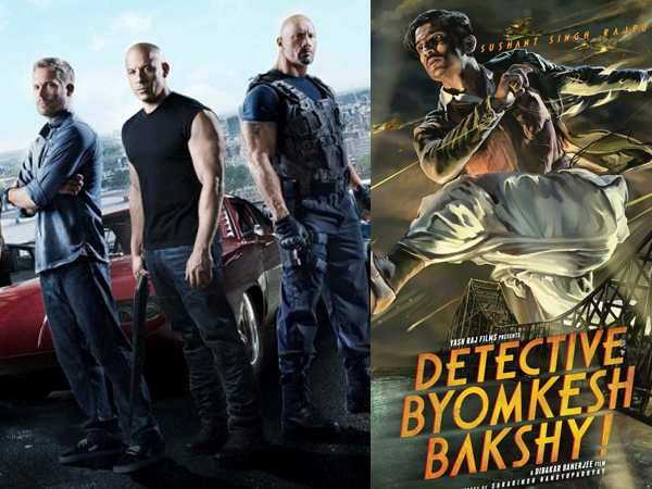 Fast & Furious 7 beats Detective Byomkesh Bakshy!