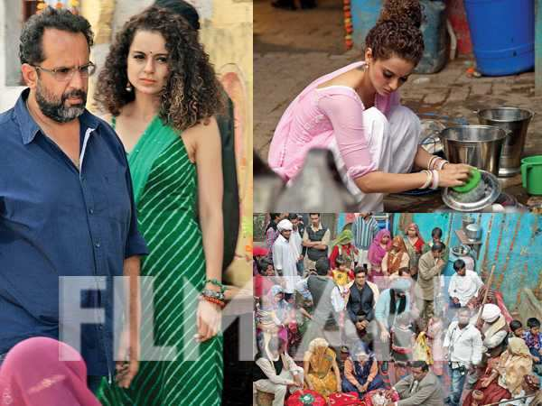 On the set: Tanu Weds Manu Returns