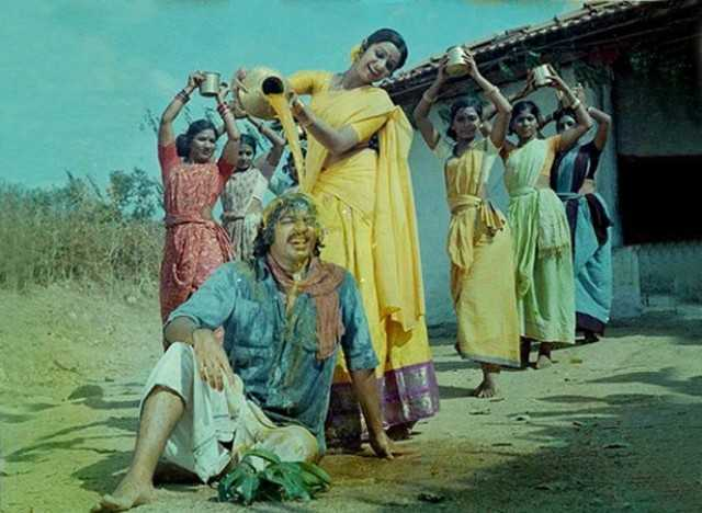 Kamal Hassan with Sridevi