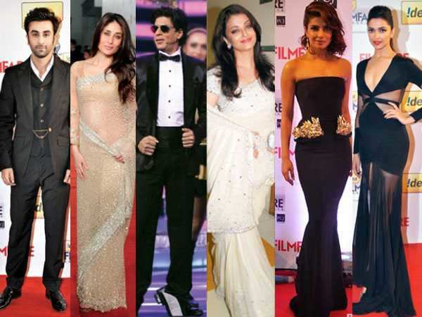 Flashback: Fashion report of the Filmfare Awards red carpet