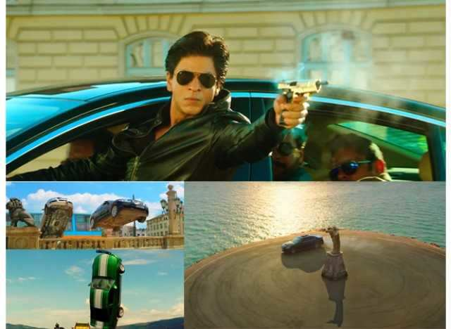 Rohit Shetty's mean machines! And of course, the film will be filled with mind-blowing car chases. And trust SRK-Kajol to give 'em a romantic tweak.