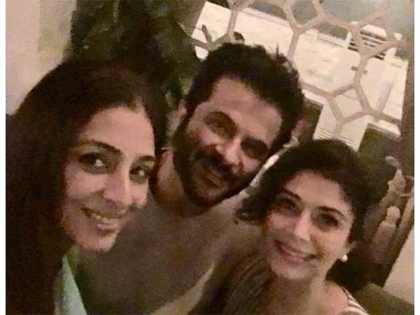 Virasat trio, Anil Kapoor, Tabu and Pooja Batra reunite
